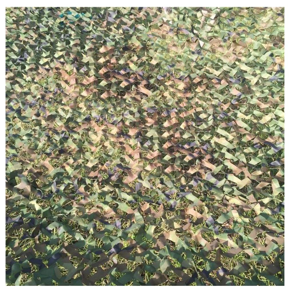 3x4M Camouflage Net, Swimming Pool Sunshade Indoor Field Double Green Car Cover Military Hunting Shooting Outdoor Photography Oxford Fabric Hunting Net Pocket Tent Hidden Farm Sunscreen Camo Net Zjnhl Camo