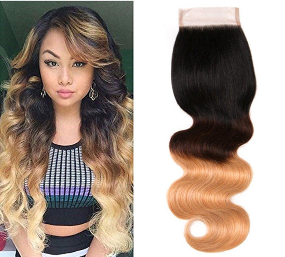 Amazon Ombre Brazilian Virgin Hair Body Wave Ombre Human Hair