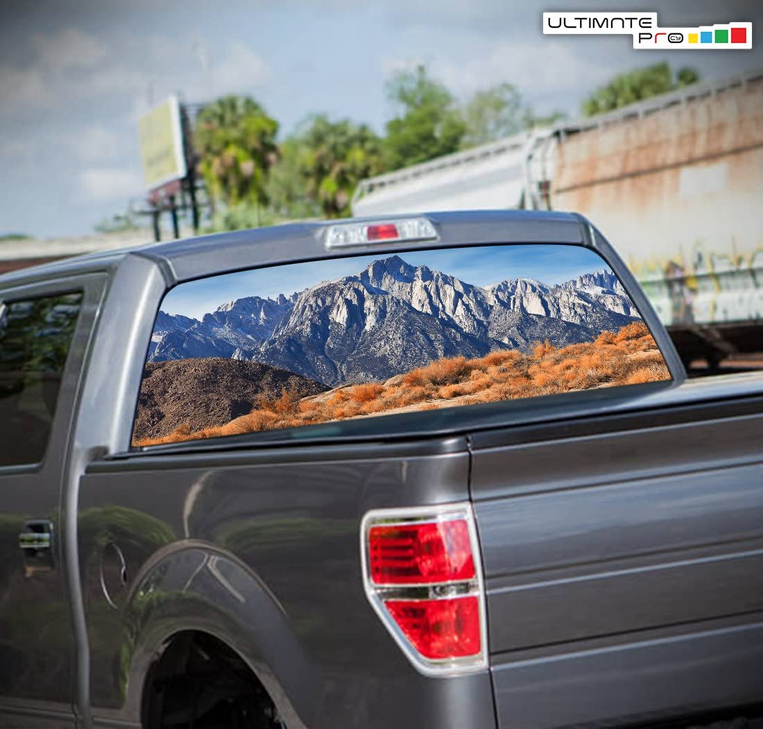 Pick-Up Truck Perforated Rear Window Wrap Alabama