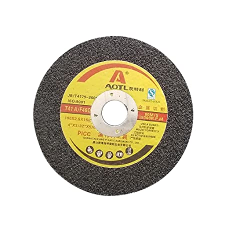Fenteer Metal Chop Saw Wheel Cutting Disc for Angle Grinder, 100mm