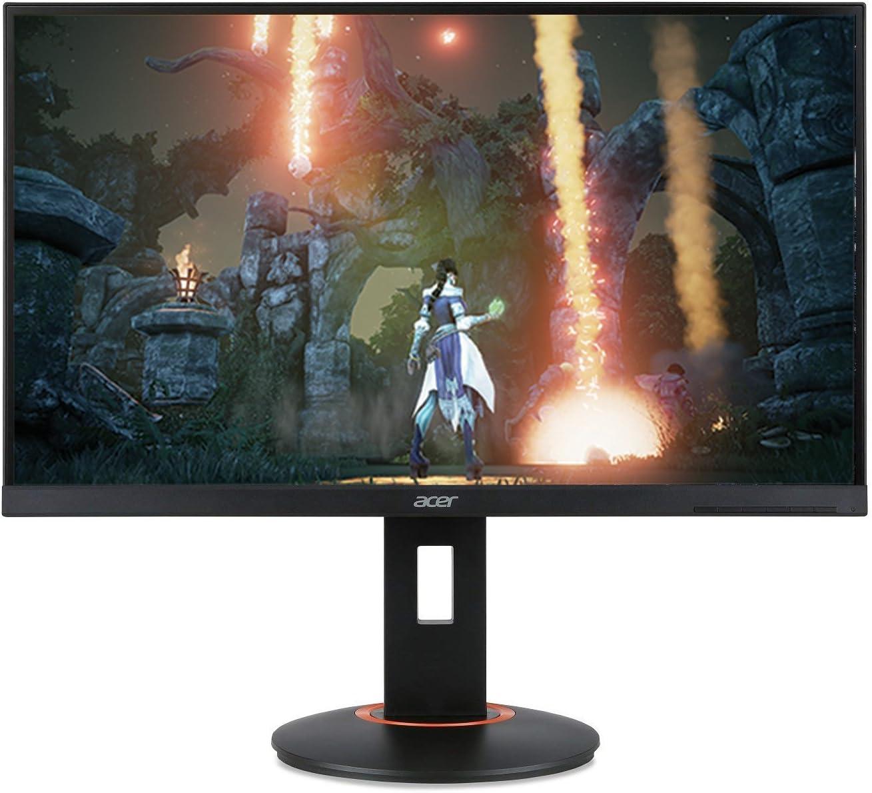 "Acer XF270HU Cbmiiprzx 27"" WQHD (2560 X 1440) TN Monitor with AMD Freesync Technology |144Hz Refresh Rate | 1ms (Display Port 1.2, 2 x HDMI Ports & 4 x USB 3.0 Ports)"