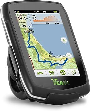 Teasi one - Navegador GPS para Bicicleta y Senderismo Negro Negro: Amazon.es: Deportes y aire libre