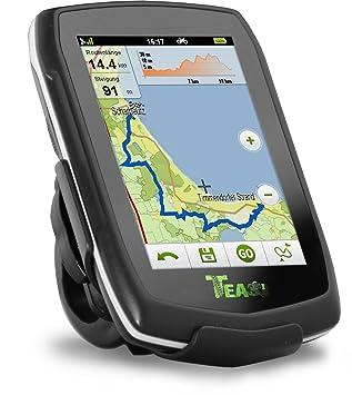 Teasi one - Navegador GPS para bicicleta y senderismo negro negro