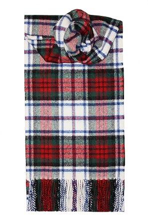 Lochcarron of Scotland, Écosse MacDuff (Dress) Tartan Écharpe en laine  d agneau 54f8b562bc3
