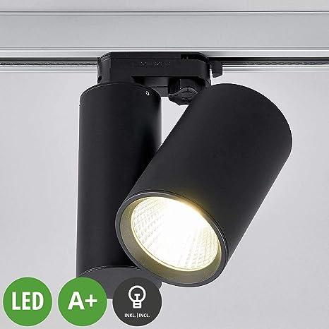 LED Foco para sistema de riel Giol (Tienda) en Negro hecho ...