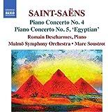 Saint-Saens: Piano Concertos Nos. 4 & 5 [Romain Descharmes; Malmö Symphony Orchestra; Marc Soustrot; Marc Soustrot] [Naxos: 8573478]