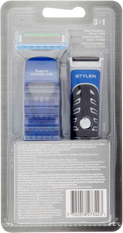 GILLETTE pack fusion proglide styler 1 ud: Amazon.es: Salud y ...