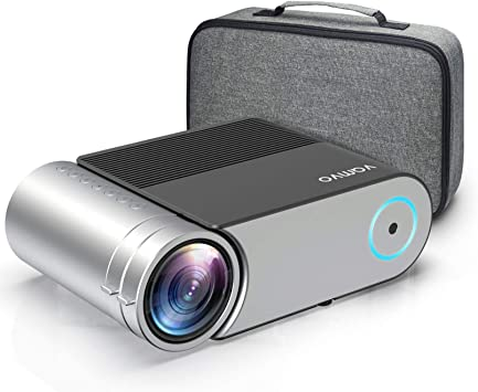 Opinión sobre Vamvo Proyector Full HD 1080P, Mini Proyector L4200 con Dolby, Proyector Portátil 5500 Lúmenes, 50000 Horas Vida, Cine en Casa Compatible con HDMI, VGA, AV, USB etc.