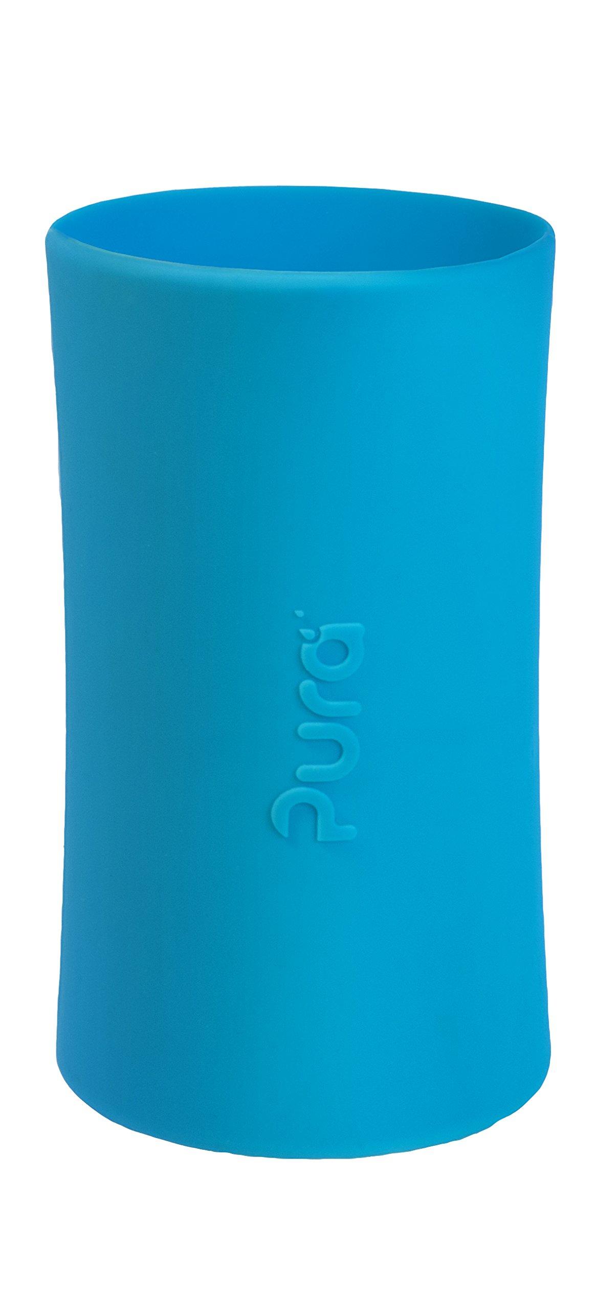 Pura Kiki Tall Silicone Sleeve for Bottle (Plastic Free, NonToxic Certified, BPA Free)