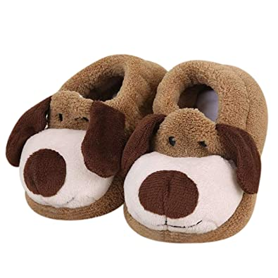 9192d31ced0 Baby Boys Girls Slippers Animal Cute Socks Slippers Soft Sole Cosy Infant  Slippers Warm Winter Novelty