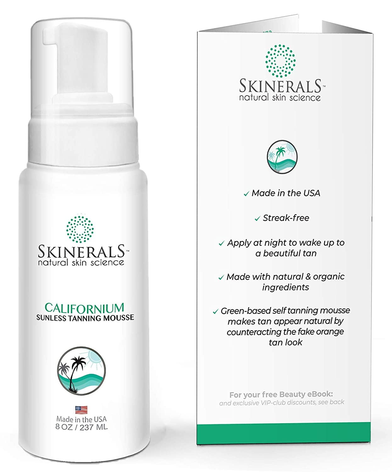 Skinerals Self-tanner Mousse