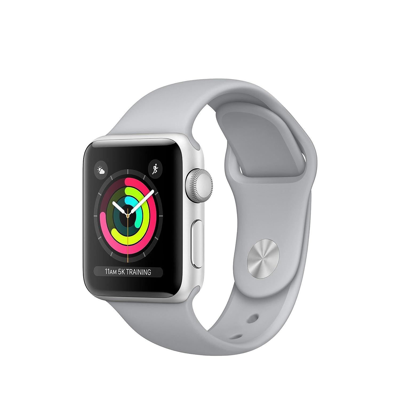 Apple Watch Series 3 OLED GPS (satélite) Plata Reloj Inteligente: Amazon.es: Electrónica
