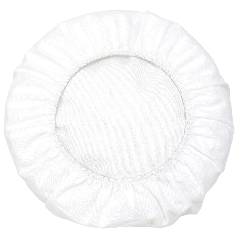 Linnea Housse de Protection de traversin imperm/éable 90 cm Arnon Molleton 100/% Coton contrecoll/é polyur/éthane