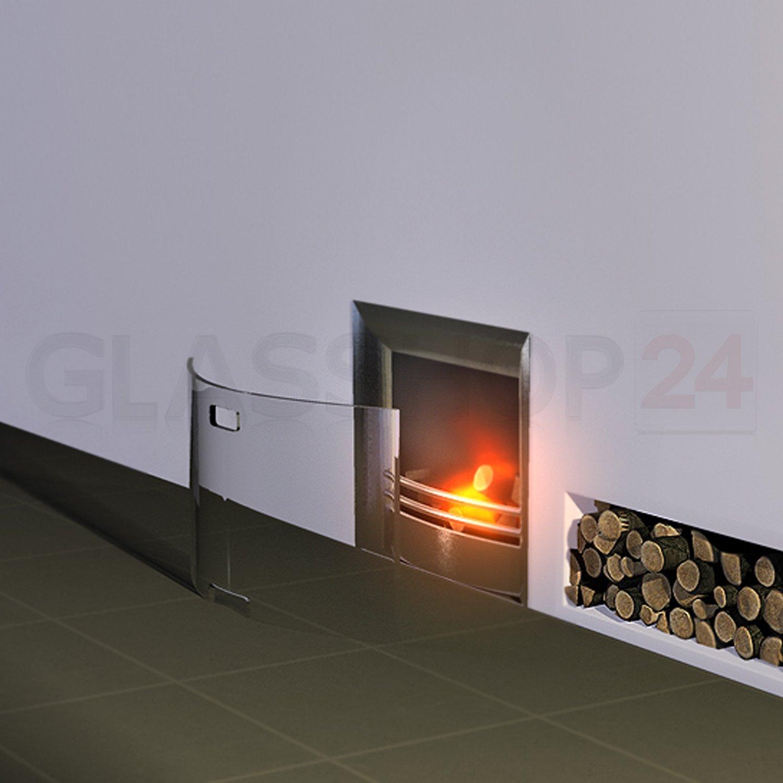 Glasshop24 Bijon® Kamin Ofen Glas Funkenschutzgitter Funkenschutz  Schutzgitter | 65x45x14cm (BxHxT): Amazon.de: Küche U0026 Haushalt