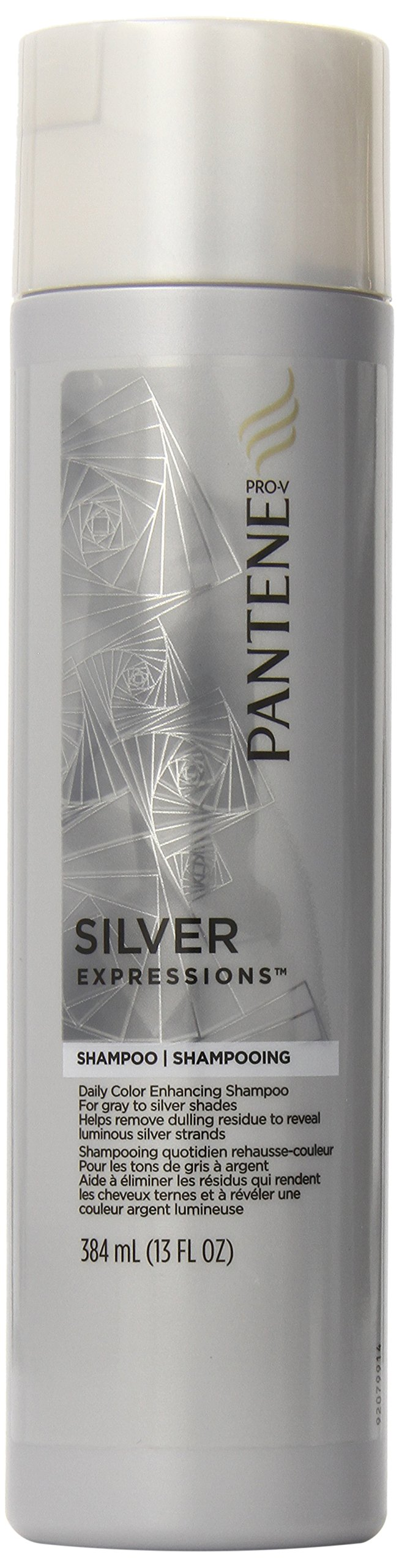 Pantene Silver Expressions Daily Color Enhancing Shampoo 13 Fl Oz (Pack of 2)