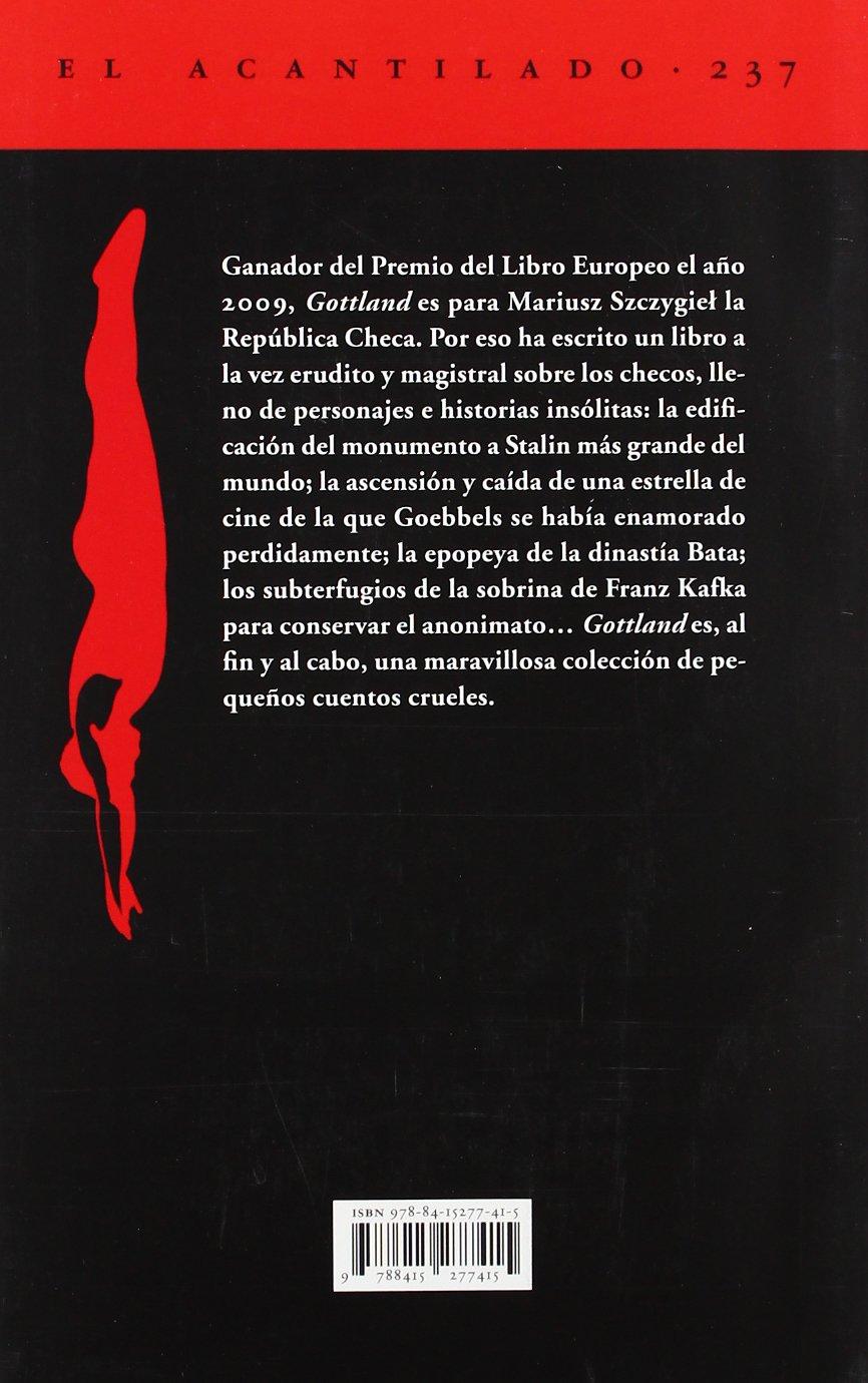 Gottland (Acantilado): Amazon.es: Mariusz Szczygiel, María Dolores Pérez Pablos: Libros