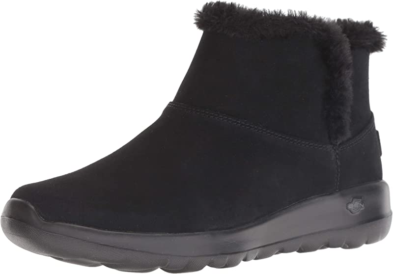 Skechers On The Go Joy Bundle Up Sneakers Stiefel Damen Schwarz