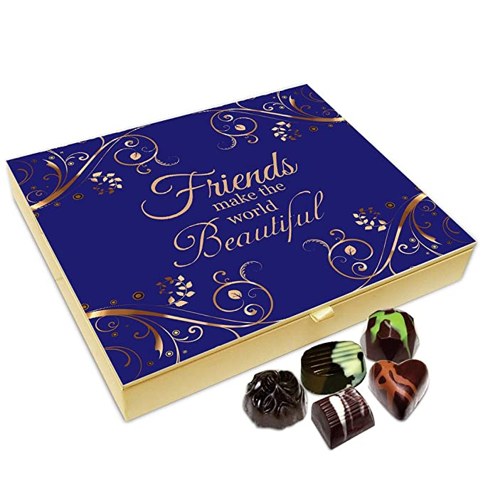 Chocholik Friendship Gift Box Friends Make The World Beautiful
