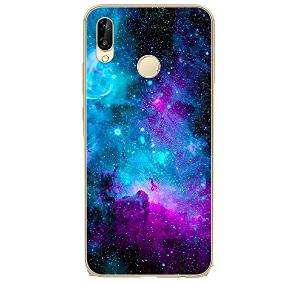 Amazon.com: for Huawei P20 Lite Case Soft Silicone Funda for ...
