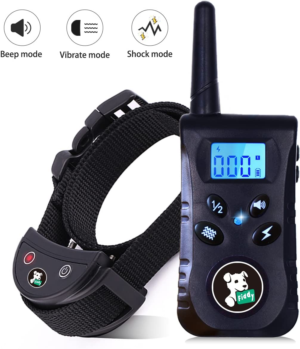 Fiddy Dog Collar with Remote 01