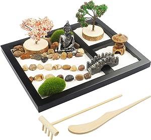 Japanese Zen Garden for Desk - Sakura Budah 9