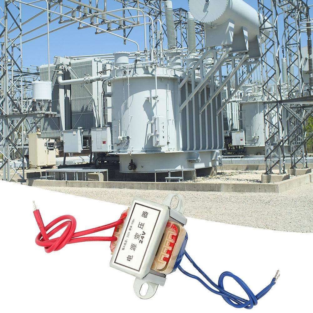 24V Ausgangsspannung 5W Eingang 220V 50Hz Vertikalmontage Single Power Transformer AC 12V 24V