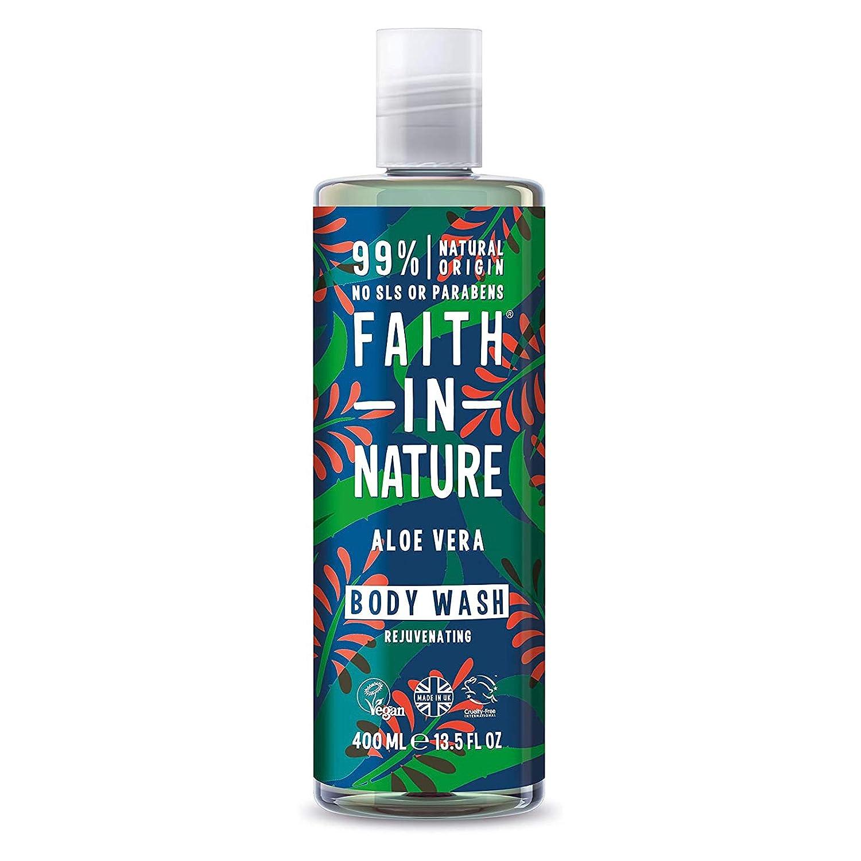 Faith In Nature Aloe Vera Rejuvenating Body Wash 400ml