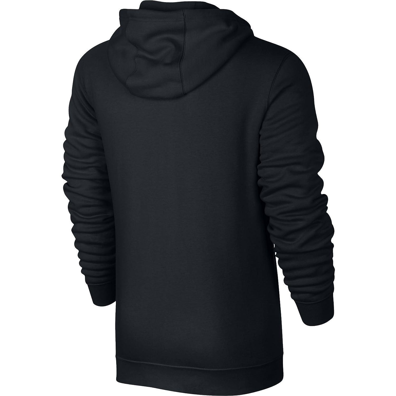 ad50fd5fde8a8 Nike Sportswear Club FZ BB Sweat à Capuche Homme, Noir Blanc, FR (Taille  Fabricant   4XL)  Amazon.fr  Sports et Loisirs