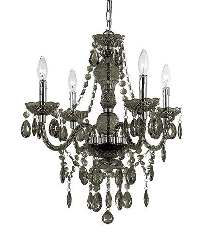 Af lighting 8351 4h naples four light mini chandelier smoke black af lighting 8351 4h naples four light mini chandelier smoke mozeypictures Choice Image