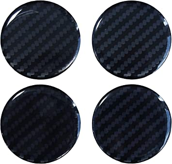 Nabenkappen 3d 910033 Carbon Schwarz Felgendeckel Radnabendeckel 55 Mm Hightech Folie Mit Sichtbarer Struktur Auto