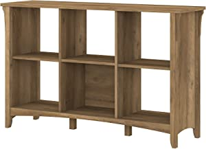 Bush Furniture Salinas 6 Cube Organizer, Reclaimed Pine