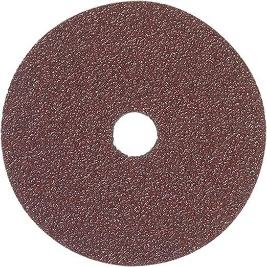 "Norton 10 pack A//O You Choose Grit 4/"" x 5//8/"" Fiber Resin Sanding Disc"