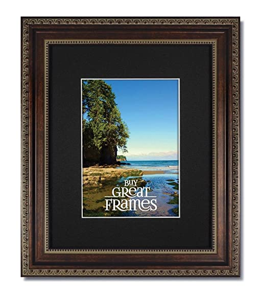 Amazon One 11x14 Ornate Heritage Bronze Picture Frames And
