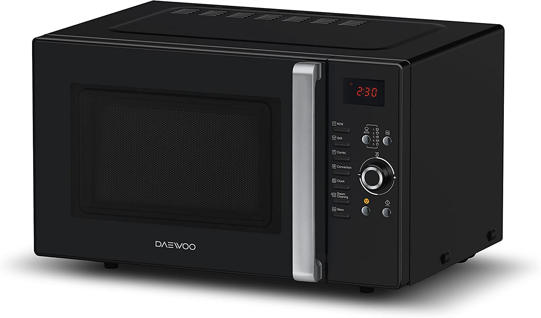 Daewoo KOC-9Q3T - Microondas digital convección y grill, 900 W, 28 ...