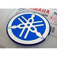 100% Original 40mm Diámetro Yamaha Diapasón Pegatina Emblema
