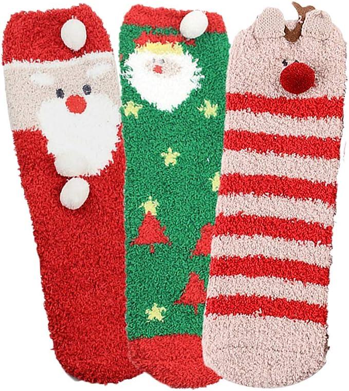 4 Children Kids Boys /& Girls Christmas Novelty Socks Festive Stocking Filler