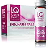 LQ Skin Hair & Nails - Premium Collagen (7000mg), Hyaluronic Acid, Biotin and Selenium Health & Beauty Supplement - 30 Days (3 Boxes)