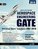 GATE 2019 Aerospace Engineering - 12 Years' Section-wise Solved Paper 2007-18