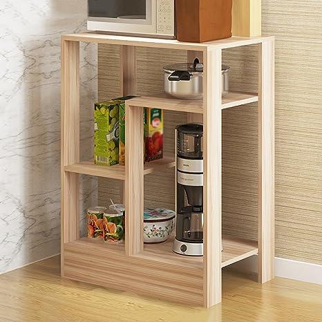 WSSF - Scaffali per cucina Solidi ripiani in legno da cucina Rack ...