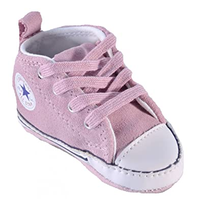 6f92362b916905 Converse - Converse All Star Ct First Star Childrens Sports Shoes Hi Dusty  Pink 846136C - Pink