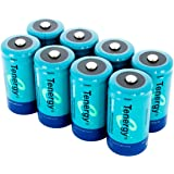 8 pcs of Tenergy C Size 5000mAh High Capacity High Rate NiMH Rechargeable Batteries