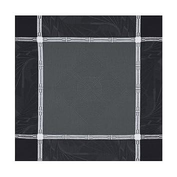 Le Jacquard Francais 23574 toalla de mesa Palace algodón peinado Caviar 58 x 58 x 0.1 cm: Amazon.es: Hogar
