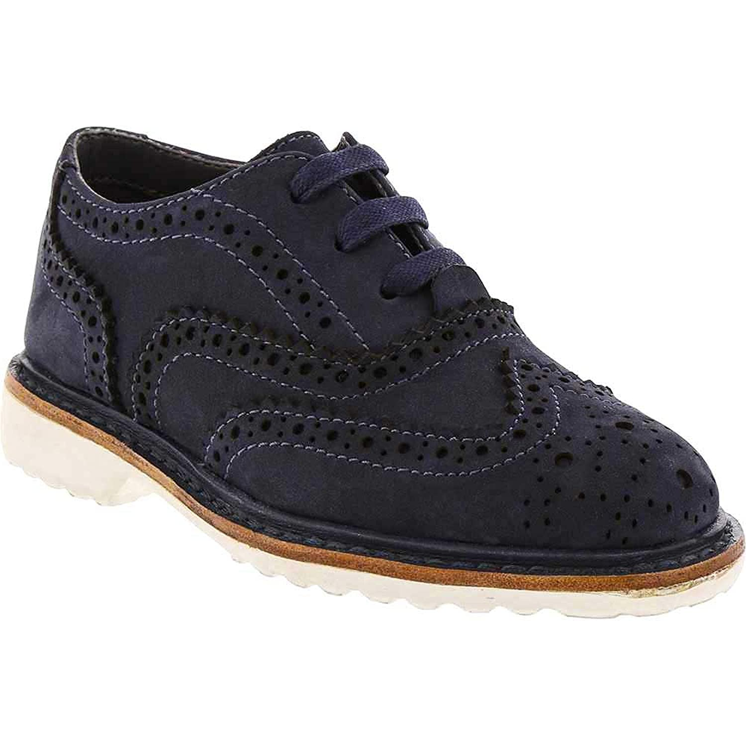 Kenneth Cole REACTION Kids Wing Brogue Nubuck-t