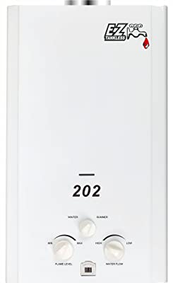 Portable Propane Tankless Water Heater - EZ 202 - EZ Tankless