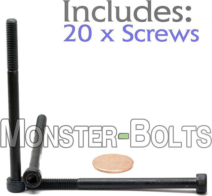Hex Brighton-Best International 532053 Socket Black-Oxide Socket Head Screw Alloy Steel Pack of 100 14 mm Long M5 x 0.8 mm Thread