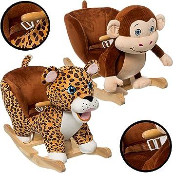 Baby Animal Rocker Rocking Toy JUNGLE (MONKEY): Amazon.co.uk: Toys ...