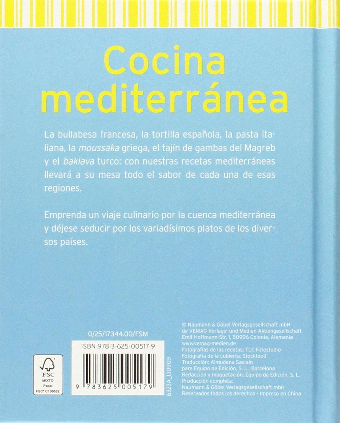 Cocina Mediterránea (Minilibros de cocina): Amazon.es: Vv.Aa ...