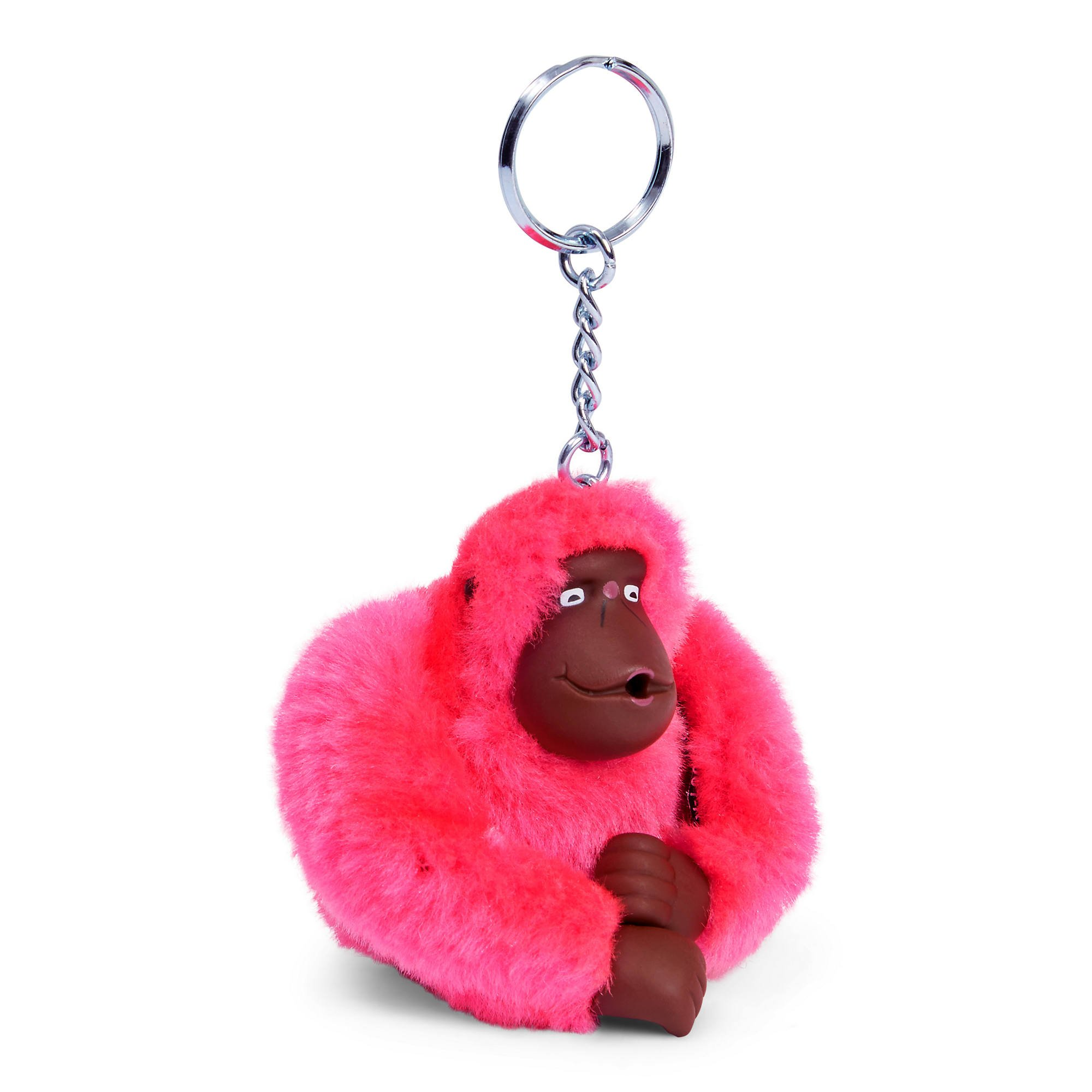 Kipling Women's Sven Monkey Keychain One Size Surfer Pink