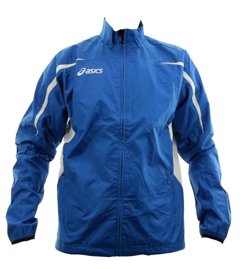 ASICS Giacca Antivento unisex Atletica Leggera Running BARCELLONA bianco royal T212Z6 T212Z6.4301 810002605998