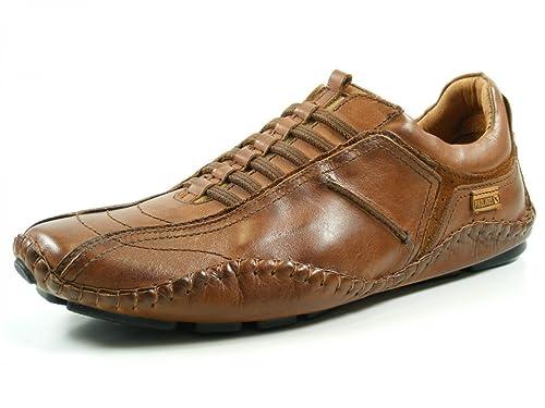 Pikolinos 15A-6039 Fuencarral Zapatos Mocasines de cuero para hombre, schuhgröße_1:44 EU;Farbe:marron